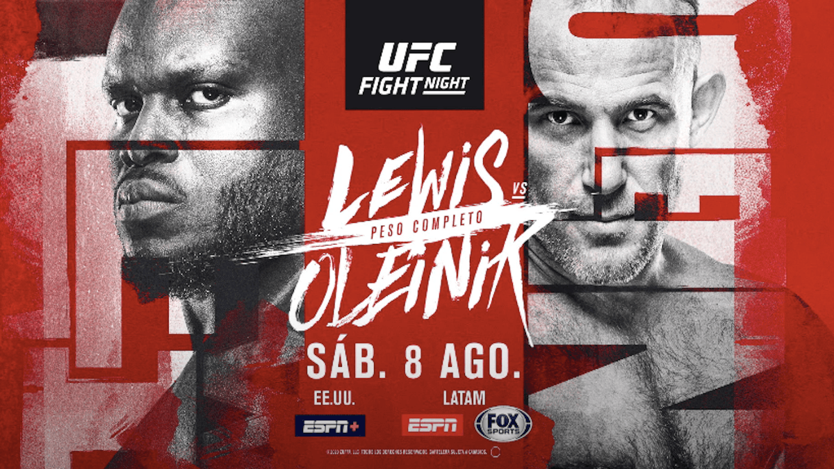Ufc Fight Night 174 Lewis Vs Oleinik Predictions Results Pintsized Interests